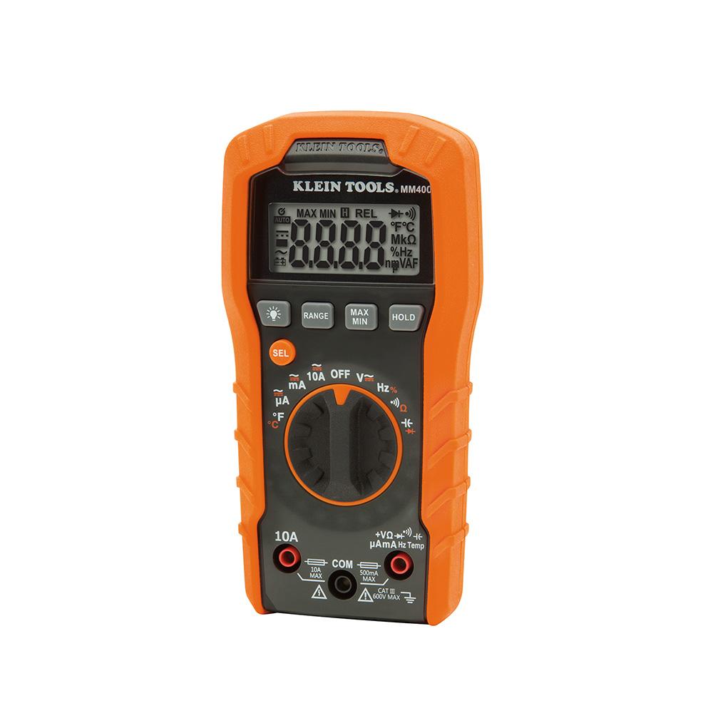 KLEI MM400 DIGITAL MULTIMETER, AUTO-RANGING, 600V