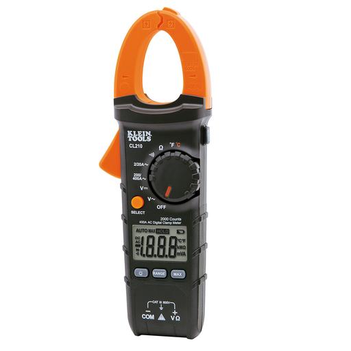 KLE CL210 CLAMP METER AC + TEMPERATURE