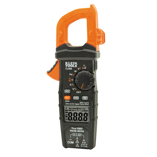 KLE CL800 600A AC CLAMP METER