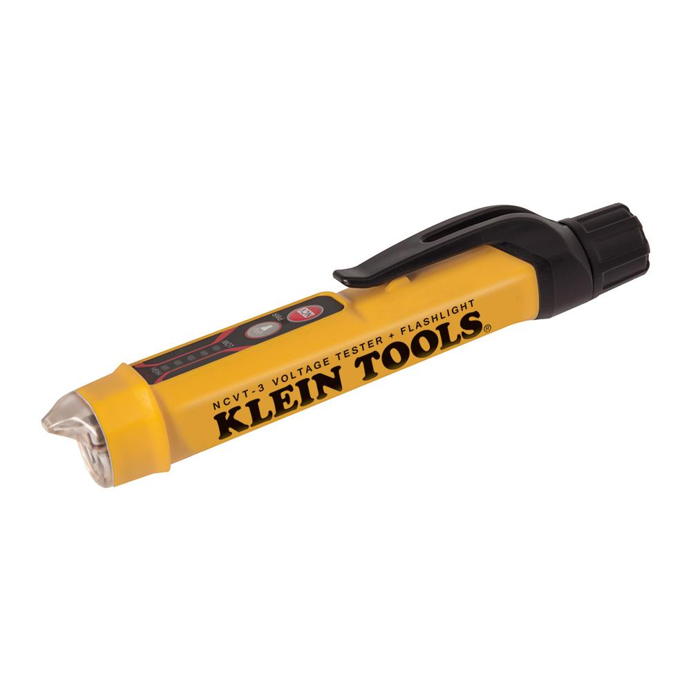Non-Contact Voltage Tester Pen, 12 to 1000V AC, with Flashlight