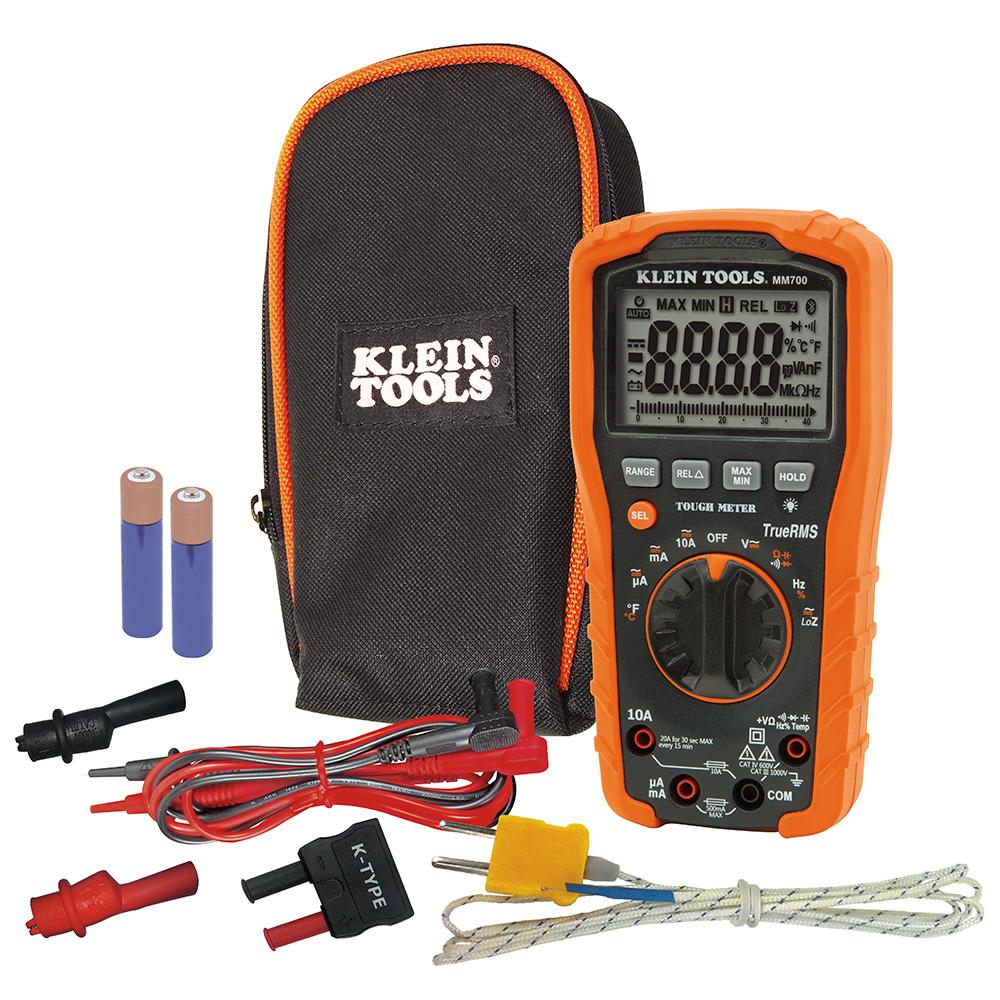 KLEIN TOOLS Digital Multimeter TRMS/Low Impedance, 1000V