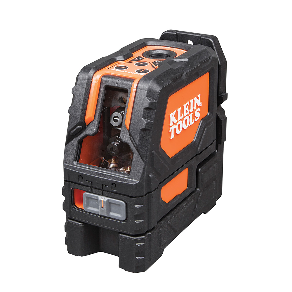 Laser Level, Self-Leveling Cross-Line Level with Plumb Spot