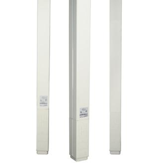 WIREMOLD 25DTC Series Blank Steel Poles