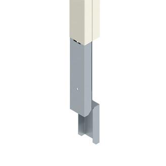 WIREMOLD 25DTC-E5 - 25DTC Series Blank Steel Tele-Power Pole Extender