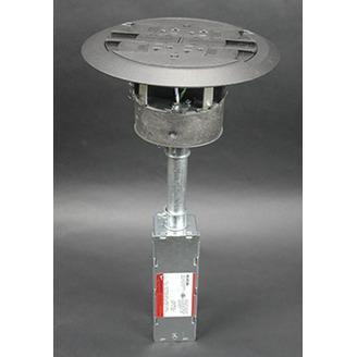 Wiremold RC4ATCAL Multi-Service Assembled Poke-Thru Device