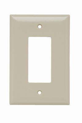 Pass & Seymour SPO26-I 1-Gang 1-Decorator Ivory Smooth Thermoset Plastic Jumbo Wallplate