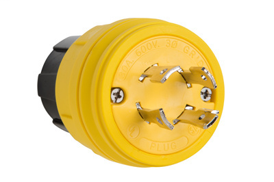 Pass & Seymour 28W77 30A 600V L1730P IP67 Turnlok Plug