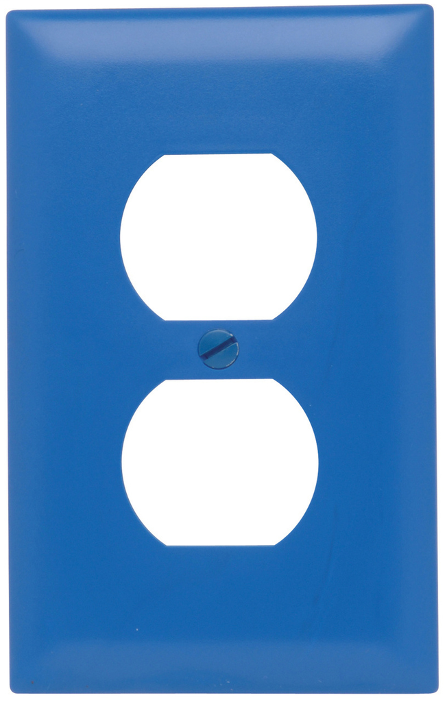P&S TP8BL TRADEMASTER WALL PLATE 1G