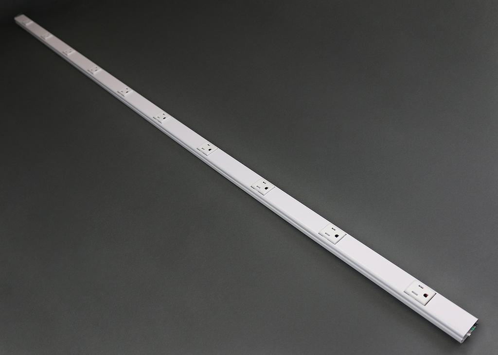 Mayer-20GB606TR Tamper Resistant Plugmold® Multioutlet System-1