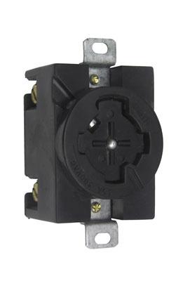 P&S 20443-N RECEPT 3P 4W 30A 480VAC