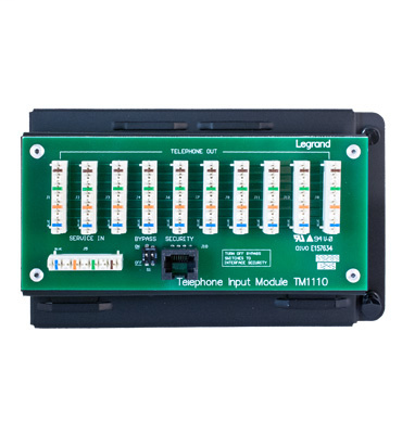 Mayer-10-way IDC Telephone Module with RJ31X-1