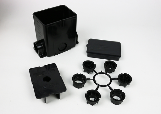Mayer-ModulinkTM 880MP Series Rectangular Plastic Floor Box-1