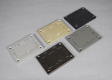 Mayer-ModulinkTM 880MP Series Rectangular Plastic Floor Box with 2 Inch Conduit Opening-1