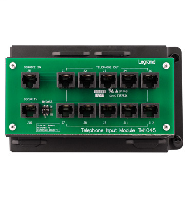 Mayer-10-way RJ45 Telephone Module with RJ31X-1