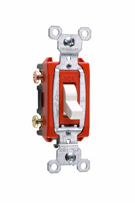 Mayer-Commerical Specification Grade Switch, White-1