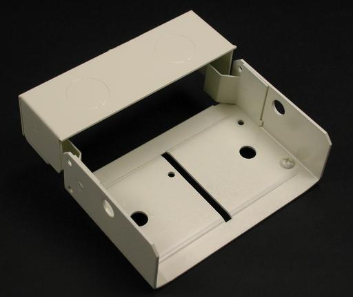 4000 Internal Corner Coupling (Plated) Fitting