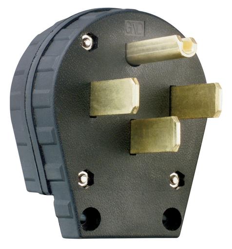 Mayer-Miscellaneous Configurations - Angled Plug, Black-1