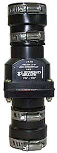 """1-1/4""""/1-1/2"""" S-613 Sump Check Valve with Stainless Steel Bands"""