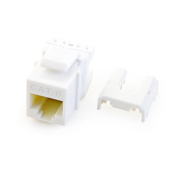 PS WP3476-WH Cat 6 Quick ConnectRJ45 Keystone Insert, White