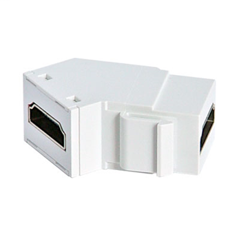 PASS & SEYMOUR HDMI Keystone Insert/Coupler, White