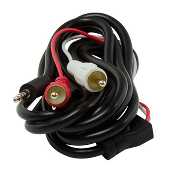 Pass & Seymour AC2712-BK 3.5mm to L/R RCA Audio Cable (12 ft)