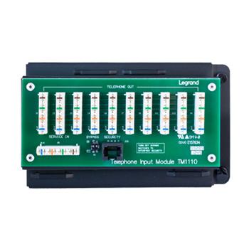 ONQ TM1110 10WAY IDC TELECOM MODULE W/RJ31X