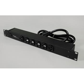 Rack Mount 120V/20A/6 front O/L /15' cord