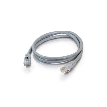 Mayer-14ft Value Series Cat5E Booted Patch Cord - Gray-1