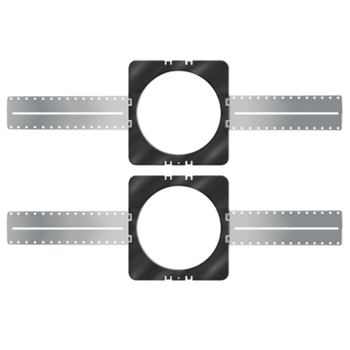 "8"" In-Ceiling Pre-Construction Speaker Bracket (pair)"