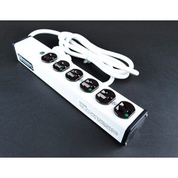 Plug-In Outlet Center Unit / Medical/Dental Grade/NOT for Patient Care areas/120V/15A/6 O/L /6' cord