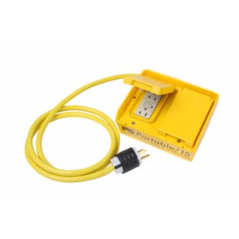 Pass & Seymour,PS154-S,15A PORTABLE GFCI BOX AUTO RESET