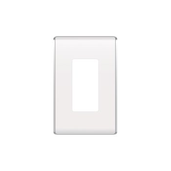 ON-Q,WP5001-WH,STUDIO 1G WALL PLATE WHITE