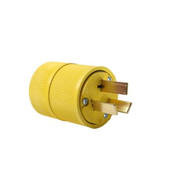 Gator Grip Plug, Yellow