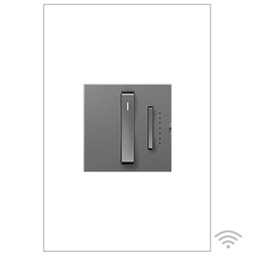 Whisper™ Wi-Fi Ready Master Dimmer Switch, Tru-Universal, Magnesium