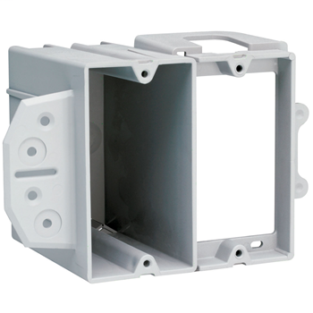 2-Gang LV Face Mount Box and Bracket for New Construction