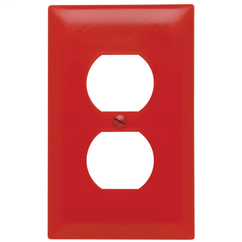 PASS TP8RED DUPLEX RED PLATE