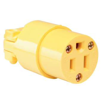 PASS 4887-Y 15A 125V 2P 3W CONNECTOR