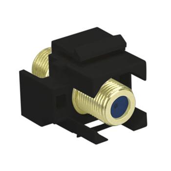 ON-Q,WP3482-BK,SELF-TERMINATING F-CONNECTOR BK (M20)
