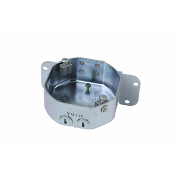 Pass & Seymour 55015 16 In Stamped Steel Side Mount Box