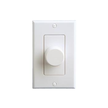 On-Q AU0100-WHLA-V1 1.65 x 3.25 x 4.19 Inch White/Light Almond High Impact Plastic Speaker Volume Control