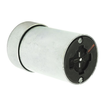 30 Amp Power Interrupting Connector, Metallic with Rubber Cord Grip 21414