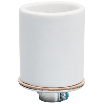 Pass & Seymour 10045 250 Volt 660 W White Porcelain 1-Circuit Medium Base Incandescent Lampholder