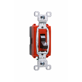 Mayer-Commerical Specification Grade Switch, Brown CS20AC1-1