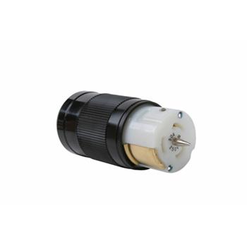 Pass & Seymour CS8364 50 Amp 250 VAC 3-Phase 4-Wire Non-NEMA Nylon Locking Connector