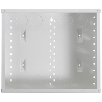 On-Q EN1200 14.3 x 3.7 x 12.13 Inch Powder Coated Glossy White Screw-On Cover Enclosure