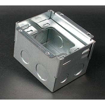 Wiremold 880W1 1/2 x 3/4 x 1 Inch 53 In 1-Gang Steel Floor Box