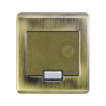 PS IC5002-AB Selective CallIntercom Door Unit, Antique Brass