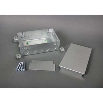 880M2 - Omnibox Series Shallow Steel Floor Box 880M2