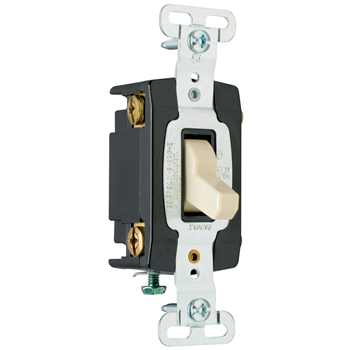 Pass & Seymour PS15AC4W White Industrial Extra Heavy Duty Specification Grade Switch