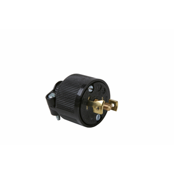 Pass & Seymour ML3113 Midget Lock Plug, 3pole 3wire, 15A 125/250V